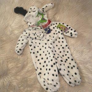 Infant Dalmatian costume (D)